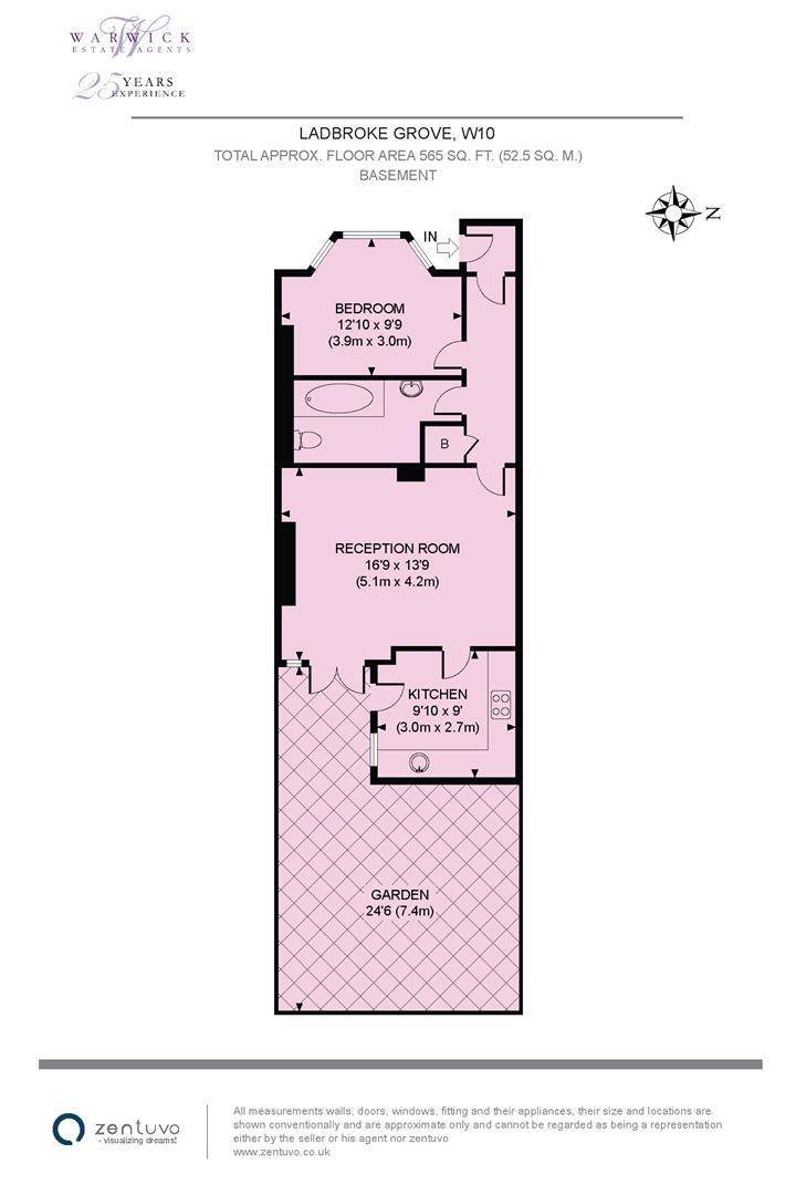 Property In Ladbroke Grove London W10 5lp